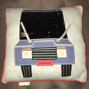 """Pottery Barn Kids """"On the Road"""" Throw Pillow"""